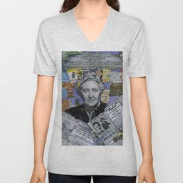 Agatha Christie's Disappearance Unisex V-Neck