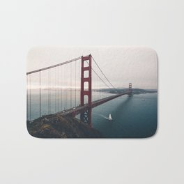 Golden Gate Bridge - San Francisco, CA Bath Mat