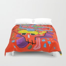 Thoughtfulness Duvet Cover