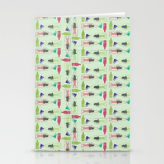 Water Pattern Stationery Cards