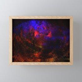 Concept abstract : The brain Framed Mini Art Print