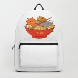 Ramen and cats Backpack