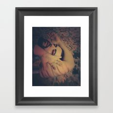 Disassembled Vampire Framed Art Print