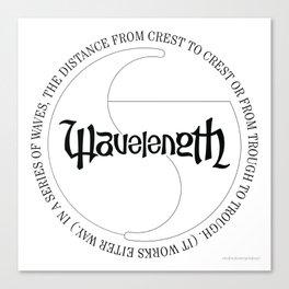 Wavelength Canvas Print