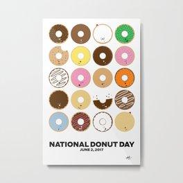 National Donut Day 2017 Metal Print