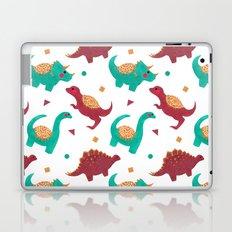 The Dinosaurs Pattern Laptop & iPad Skin