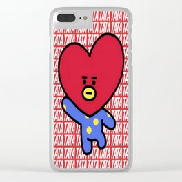 Lovely Tata Clear iPhone Case
