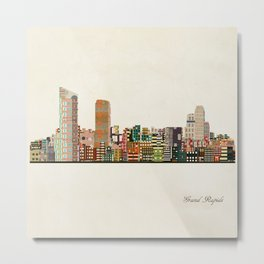 grand rapids michigan skyline Metal Print
