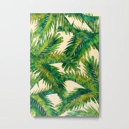 Palms #palm #palms #flower Metal Print