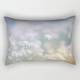 Where Flowers Bloom So Does Hope Rectangular Pillow