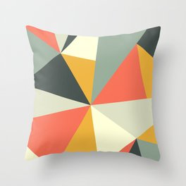 Mid Century 01 Throw Pillow