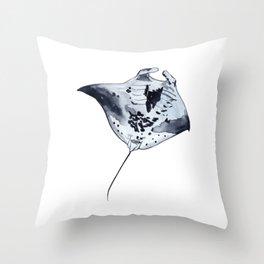 MANTARAY Throw Pillow