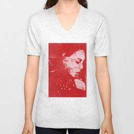 Perfect Pitch Red Unisex V-Neck