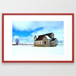 We Thank Thee Framed Art Print