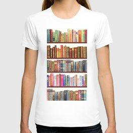 Jane Austen Vintage Book collection T-shirt