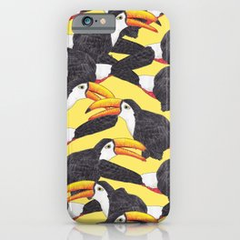 Toucans [yellow] iPhone Case