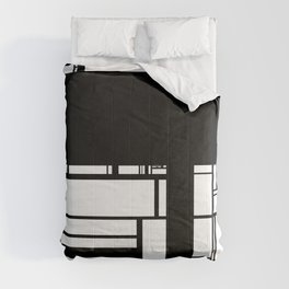 Black and White Comforters