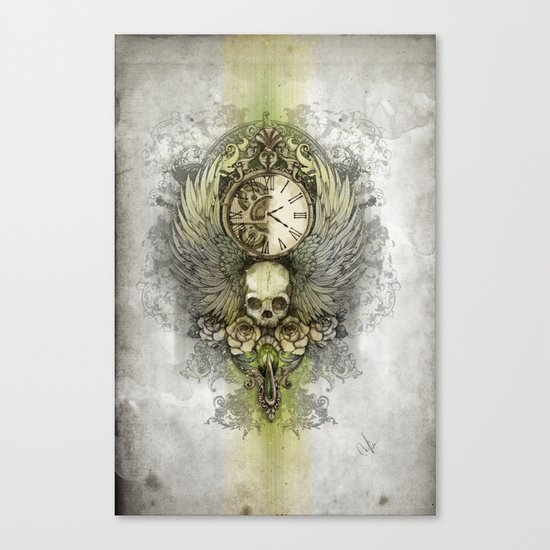 Wings Of Time Canvas Print