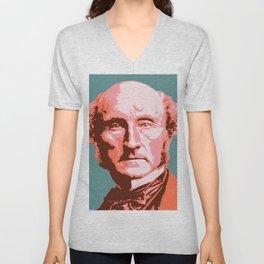 John Stuart Mill Unisex V-Neck