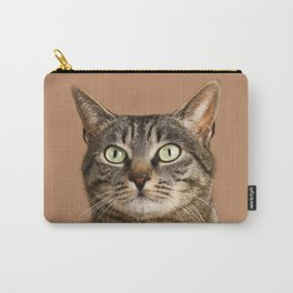 Funny grey cat Carry-All Pouch