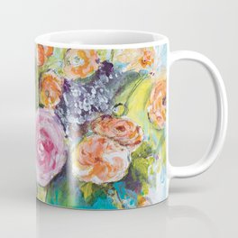 The One with the Teal Vase Coffee Mug