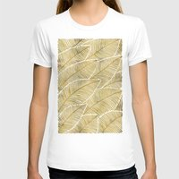 tropical T-shirts featuring Tropical Gold by Cat Coquillette