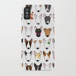 Multi-Bull Mix iPhone Case