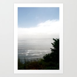 Pacific Ocean from Bolinas Art Print