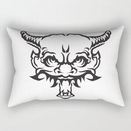 Demon Devil Rectangular Pillow
