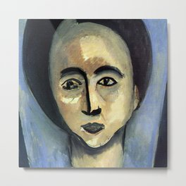 Henri Matisse Portrait of Sarah Stein Metal Print