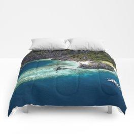 Island hopping around the Philippine Islands Comforters