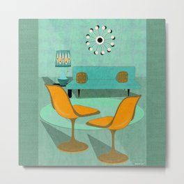 Room For Conversation Metal Print