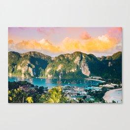 Phi Phi, Thailand #society6 #decor #buyart Canvas Print