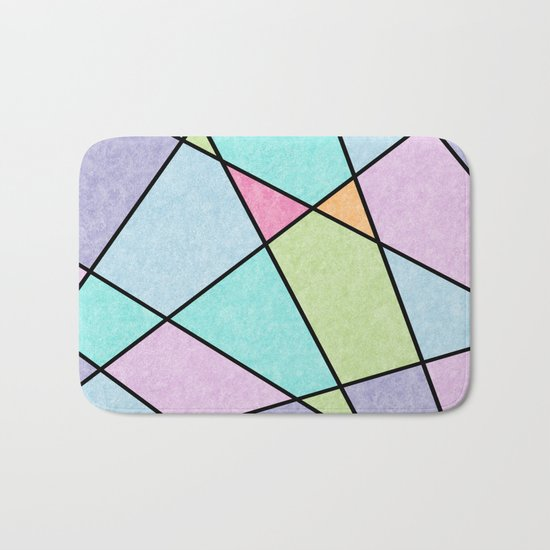 Frosted pastel Bath Mat