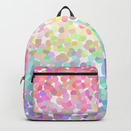 Abstract rainbow texture Backpack
