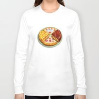 macaroons Long Sleeve T-shirts featuring To each his own by Chicca Besso