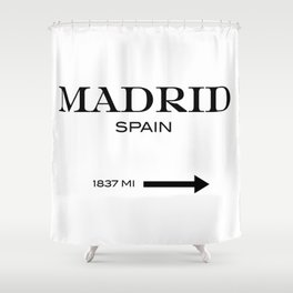 Madrid Shower Curtain