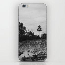 WhiteFish Point Light Station iPhone Skin
