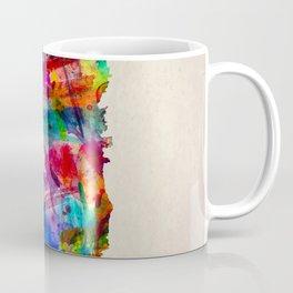 Dominica Map in Watercolor Coffee Mug