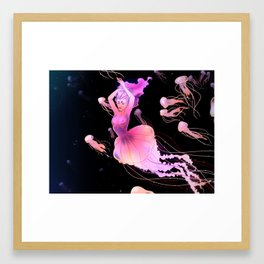 MERMAY Framed Art Print