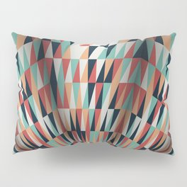 Colorful Waves Pillow Sham