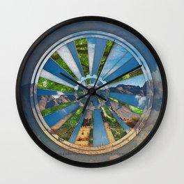 Bike Mandala Wall Clock