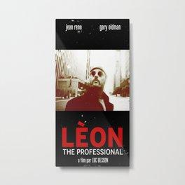 LÈON - The professional Metal Print