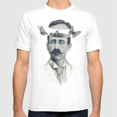 Disorientation MEDIUM Mens Fitted Tee White