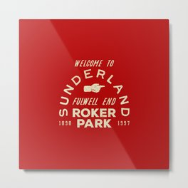Roker Park Football Ground Metal Print