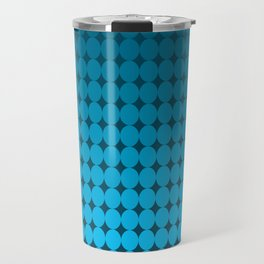 Blue Circles Travel Mug