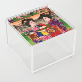 Two Geishas Acrylic Box