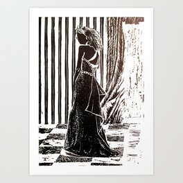After-Party Art Print