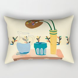 Another still life Rectangular Pillow
