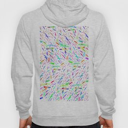 Modern colorful watercolor abstract brushstokes Hoody